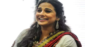 Amid protests in London, Vidya Balan takes the London tube to reach the Palace of Westminster