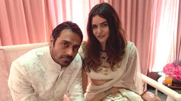 Arjun Rampal receives an adorable birthday wish from girlfriend Gabriella Demetriades