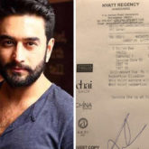 After Rahul Bose, Shekar Ravjianii shares bill of 'an exorbitant meal'