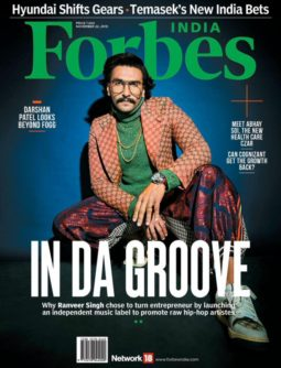 Ranveer Singh On The Covers Of Forbes India