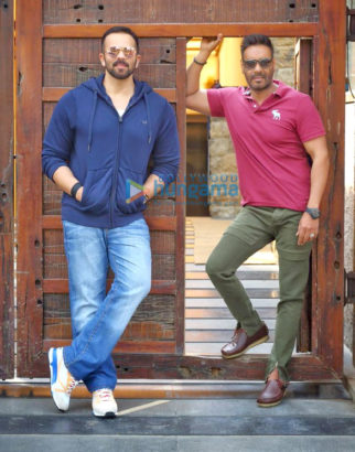 On The Sets Of The Movie Golmaal 5