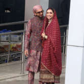 Happy Anniversary DeepVeer Deepika Padukone and Ranveee Singh look regal in stunning Sabyasachi outfits