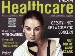 Evelyn Sharma On The Covers Of Healthcare India