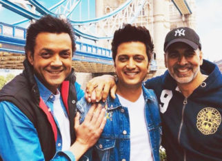 Housefull 4 Akshay Kumar, Riteish Deshmukh, and Bobby Deol dance on Bala in this BTS video and it is hilarious