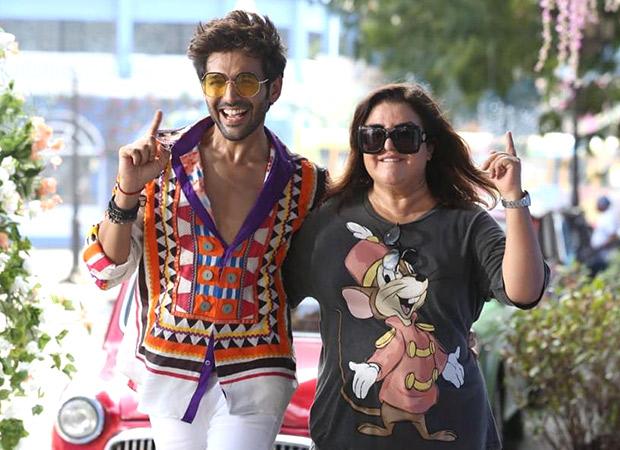 Kartik Aaryan gets biggest dance song of his career, 'Ankhiyon Se Goli Mare', on his 29th birthday, courtesy Farah Khan