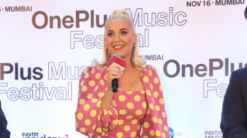 Katy Perry is delighted to be back in India