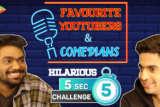 LAUGH RIOT Zakir Khan & Rohan Joshi's 5 SECOND CHALLENGE Biopic Titles Favourite YouTubers