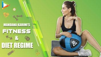 Mandana Karimi REVEALS secret of her Amazing Fitness & Diet Regime My Workout at Gym