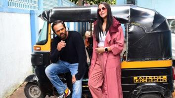 Neha Dhupia & Rohit Shetty spotted recording No Filter Neha Season 4