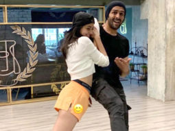 Pati Patni Aur Woh Ananya Panday posts BTS pictures from 'Dheeme Dheeme' and they're clearly rehearsing hard!