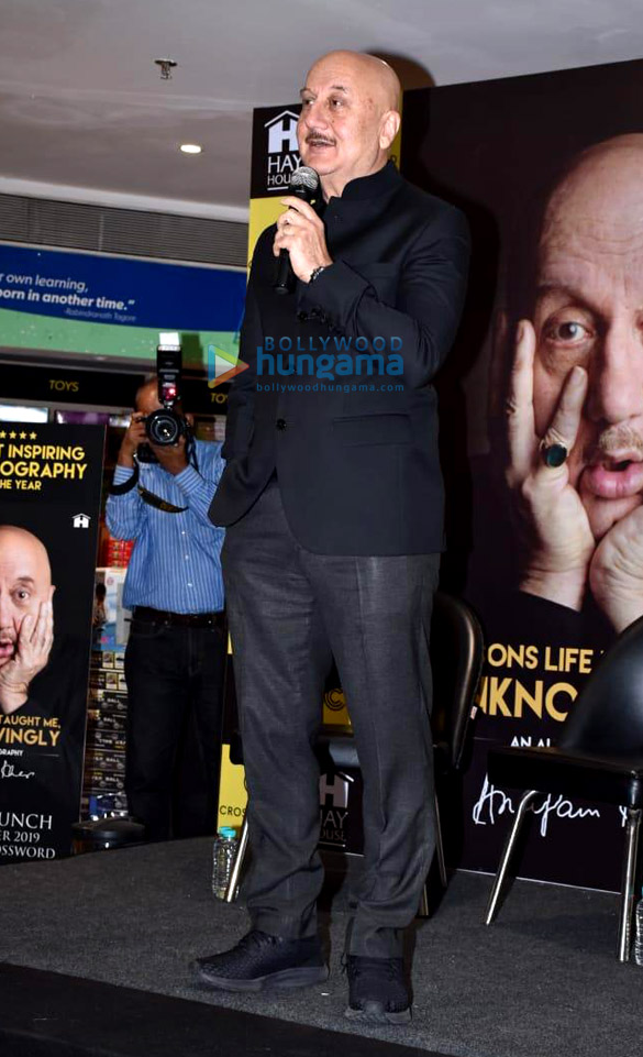 Photos: Anupam Kher snapped at his book launch