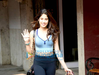 Photos: Janhvi Kapoor to spotted at Pilates class