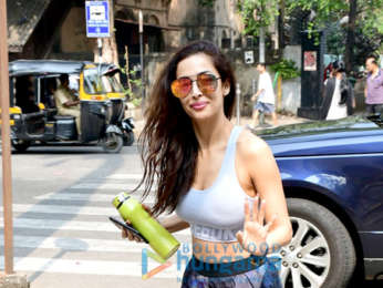 Photos: Malaika Arora snapped at Diva yoga class