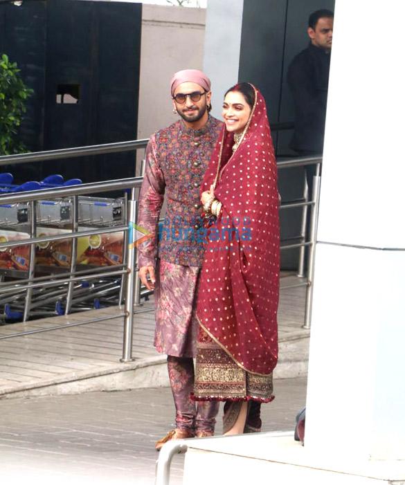 Photos: Ranveer Singh, Deepika Padukone, Shriya Saran and others snapped at the airport