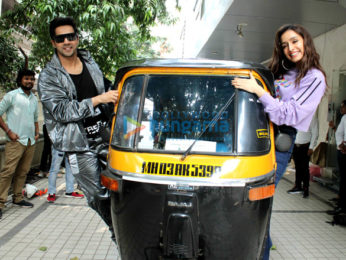 Photos: Shraddha Kapoor and Varun Dhawan snapped promoting their film Street Dancer 3D