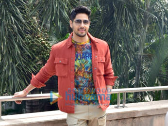 Photos: Sidharth Malhotra, Riteish Deshmukh and Tara Sutaria snapped promoting their film Marjaavaan