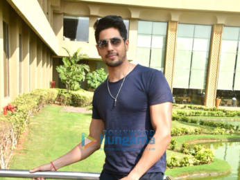 Photos: Sidharth Malhotra and Riteish Deshmukh snapped promoting their film Marjaavaan