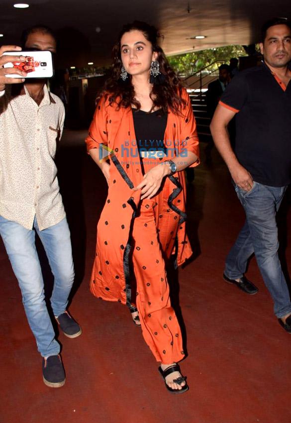 Photos: Taapsee Pannu, Vidyut Jammwal and Kangana Ranaut snapped at the airport