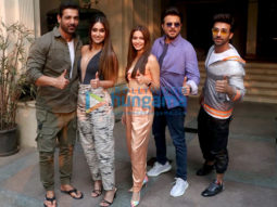 Photos: Team of Pagalpanti snapped during promotions, BKC