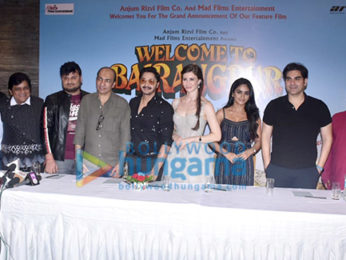 Photos: Welcome To Bajrangpur team snapped during press conference