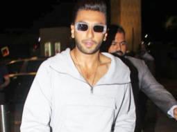 Ranveer Singh spotted at airport, Mumbai