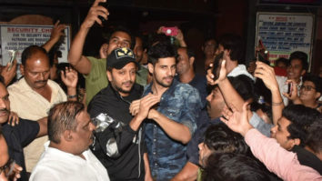 Riteish Deshmukh & Sidharth Malhotra spotted at Gaiety Galaxy promoting Marjaavaan