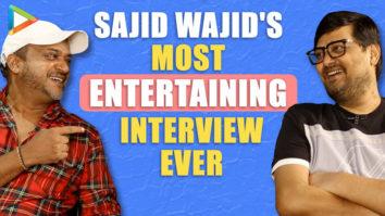 SMASHING - Sajid Wajid's Full Interview on Dabangg 3 AMUSING Salman Khan Quiz