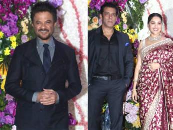 Salman Khan, Madhuri Dixit, Anil Kapoor & others at Devaansh Barjatya's Wedding Reception