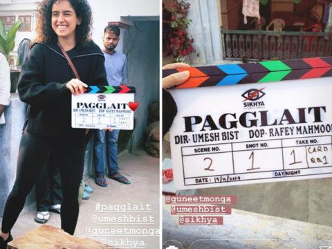Sanya Malhotra announces her next titled Pagglait