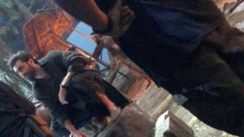 Shamshera: Ranbir Kapoor sports a beard in leaked photo from the sets of the film