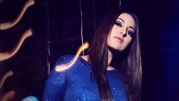 Sonakshi Sinha looks every bit glamourous in this outfit by Alexander Terekhov
