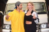 Varun Dhawan & WWE Superstar Charlotte Flair spotted in Mumbai
