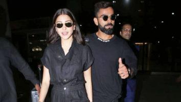 Virat Kohli & Anushka Sharma spotted at airport, Mumbai