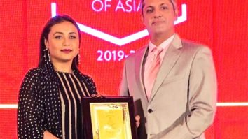 WHOA! Rani Mukerji awarded as the Most Influential Cinema Personality Award in South-east Asia