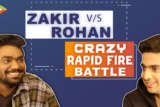 WITTIEST - Zakir & Rohan's SENSATIONAL Rapid Fire on SRK, Hrithik, Bhuvan, Alia, Varun,PM, Break-ups