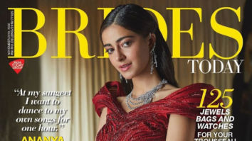 Young and Beauty! Ananya Panday stuns a red lehenga on the cover of Brides Today
