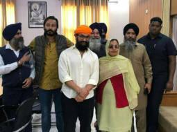 Laal Singh Chaddha: Amir Khan seeks blessings at Punjab's Gurudwara Bhatta Sahib in between shoots
