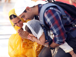 On daughter Mehr's first birthday eve, Angad Bedi and Neha Dhupia seek blessings at Golden Temple