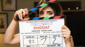 Radhika Madan begins shooting for Shiddat opposite Sunny Kaushal