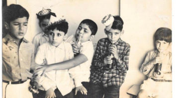 Throwback: Rishi Kapoor shares childhood picture enjoying cola with Boney Kapoor and Anil Kapoor