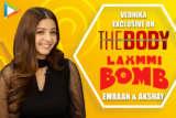 """Akshay Kumar sir is FABULOUS with…"" Vedhika on Laxmmi Bomb & Kanchana Emraan Hashmi The Body"