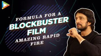 """India's BIGGEST Superstar is…""Kichcha Sudeep's SUPERB Rapid Fire 'Salman – STRENGTH' Bigg Boss"