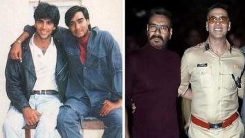 Ajay Devgn felt nostalgic working with Akshay Kumar in Sooryavanshi