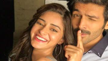 Ananya Panday asks who the real Chintu Tyagi is; Kartik Aaryan answers the 'Aakhri Pasta' way!