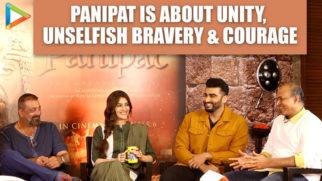 "Ashutosh on Panipat ""I'm not trying to make a film which is gonna HURT…"" Arjun Kriti Sanjay"
