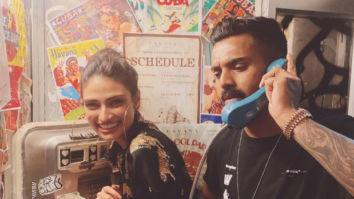 Athiya Shetty poses with rumoured boyfriend KL Rahul, the photo has Suniel Shetty connection