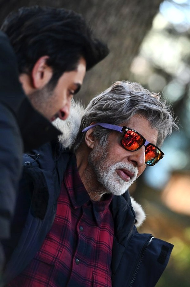 Brahmastra: Amitabh Bachchan shoots in minus three degree weather with Ranbir Kapoor in Manali