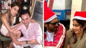 Christmas 2019: Sara Ali Khan, Saif Ali Khan, Kartik Aaryan, Janhvi Kapoor, Ranbir Kapoor and others celebrate the festivites