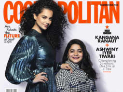 Kangana Ranaut and Ashwiny Iyer Tiwari on the cover of Cosmopolitan, Dec 2019