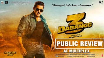 DABANGG 3 Movie Review Salman Khan Sonakshi Sinha Saiee Manjrekar Prabhudeva